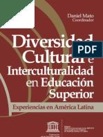 Diversidad Cultural y Educacion Superior