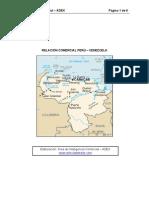 PERU-VENEZUELA Balanza Comercial Ult. Pto