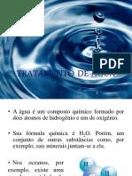 Slide - Tratamento de Água