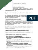 Resumen Defensora Del Pueblo[1]
