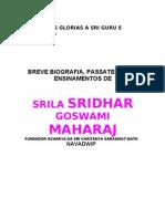 Biografia de Srila Sridhar Maharaja