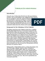 The Tribulation of Wahhabism - Fitnatul-Wahhabiyyah