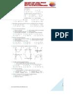 Quadratic Function Exercise