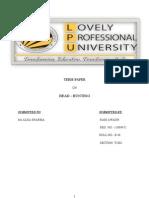 Term Paper of Mpob