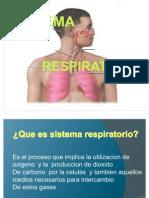Ppt Respiratorio