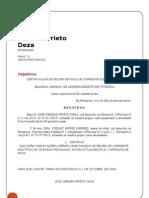 Certificaicon Pago Corriente 2.2 Yorley