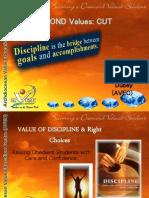 Diamond Value Cut Discipline Ppt