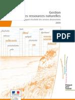 RA09 Gestion Ressources Naturelles