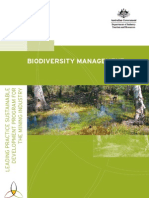 Biodiversity Mgt