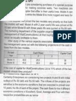Capital Budgeting Practical