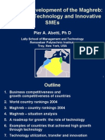 Economic Development of the Maghreb:The Role of Technology and Innovative SMEs