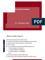 Project Planning Lecture 2010 Amj