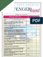 Scavenger Hunt List (Youth)PDF