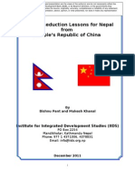 Poverty Reduction Lessons for Nepal from PRC (Paper)
