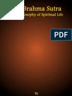 Brahma Sutra, The Philosophy of Spiritual Life by Dr. Sarvepalli Radhakrishnan (1960)