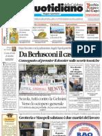 Quotidiano della Calabria 05.10.2008