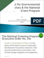 National Greening Program_Mendoza M