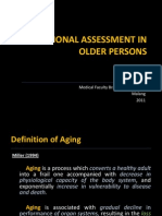 Nutritional Assessment in Older Persons