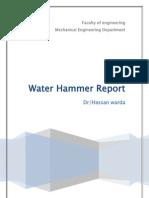 Water Hammer Report