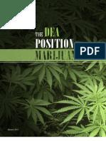Marijuana Position 2011 - DEA