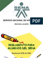 Reglamento Para Alumnos Del Sena