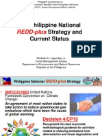 Philippine National REDD Plus Strategy and Current Status_Lagumbay