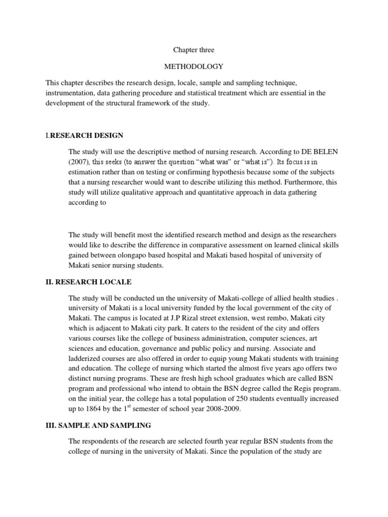 nursing research chapter 3 papers Ucsf school of nursing twitter international center for hiv/aids research and clinical training in nursing (t32) symptom management research center for.