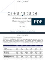 2011 Life Science Market Update (China) from Clearstate