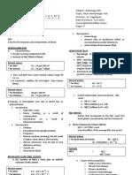 Basic Hematologic Tests