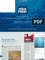 Broodstock feeds with added crude palm oil enhances tilapia egg and larva production