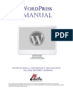 Word Press Manual