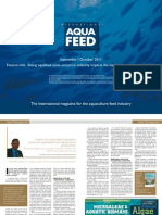 Rising aquafeed costs and price volatility impacts the health and productivity of fish