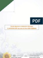 Functionalitati CLARVISION ERP