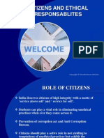 Citizens and Ethical Responsablites