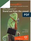 Accountancy@UJ - Why blend in?