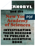 Critique of New York Academy of Sciences for Publishing Non-Science about Chernobyl
