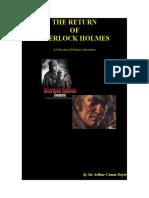 The Return of Sherlock Holmes by Sir Arthur Conan Doyle