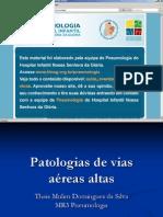 Patologias Vias Aereas Altas