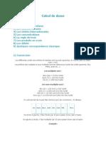 Conversions Calcul de Doses