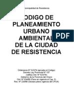 Codigop de to Urbano Ambiental de La Ciudad de Resist en CIA