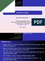Chapter I - Symbolic Logic