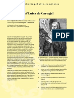 The Letters of Luisa de Carvajal y Mendoza Colour Leaflet