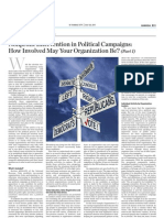 Nonprofit Intervention in Political Campaigns