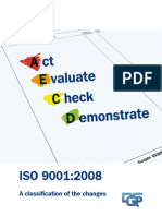 ISO 9001 English 2008 Changes