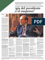 La Estrategia Del Presidente Humala Es El Suspenso
