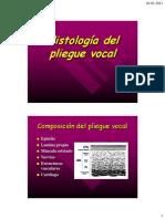 08 Histología pliegue vocal