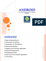 Android Seminar Presentation