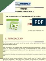 Unidad 1. Excel