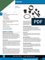 Polymer Plane Bearings