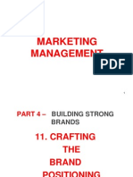 11 - Crafting the Brand Positioning